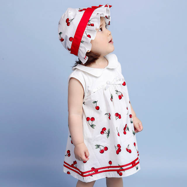 72ed729cf Online Shop 2016 Cute Baby Girl Dress Summer Dress for 1 Year Girl ...
