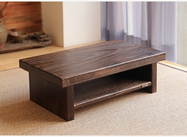 Beau Asian Antique Furniture Japanese Floor Tea Table Rectangle Size 68*35cm  Living Room Wooden Laptop Coffee Tatami Low Table Wood In Coffee Tables  From ...