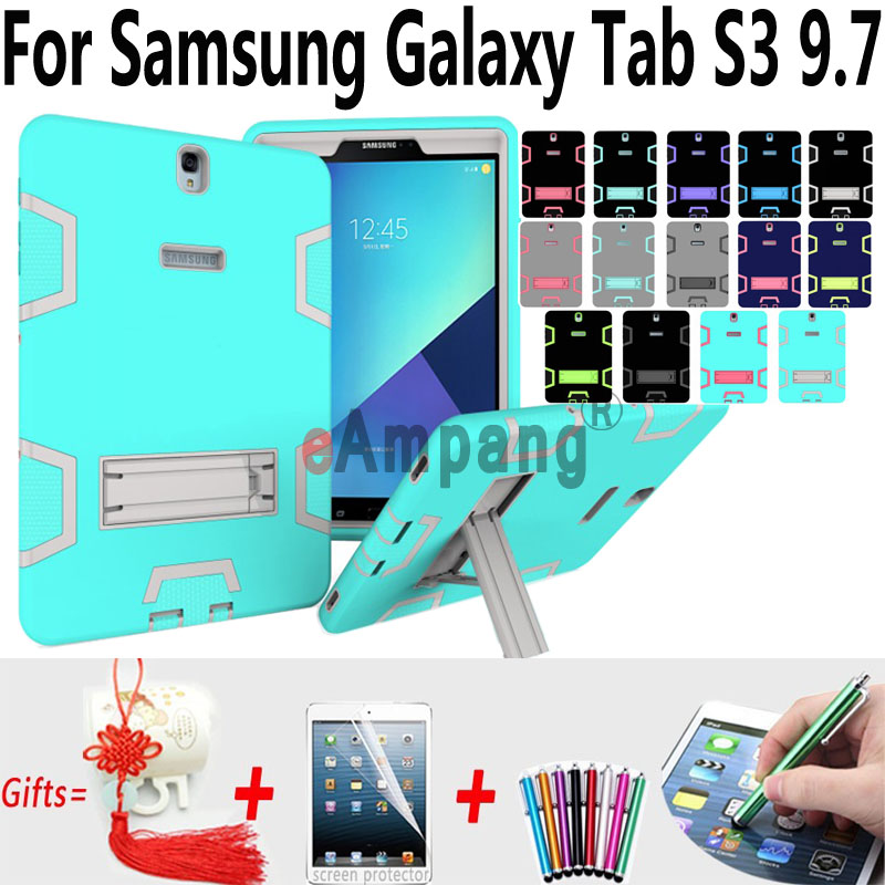Tablet Cases For Samsung Galaxy Tab S3 9.7 inch T820 T825 Cover Case Silicone Shockproof Kids Cases For Samsung Tab S3 9.7 Cover sahar cases don t lost your way samsung galaxy s3