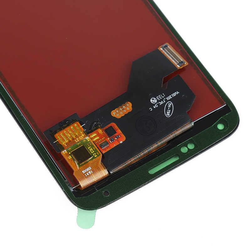 G900f LCD untuk Samsung Galaxy S5 LCD G900M G900A G900T G900F LCD Display Rakitan Digitizer Layar Sentuh untuk Samsung S5 layar
