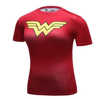 New Arrival Cool Style DC Comics Superhero Wonder Women T Shirts 3D Printed Bodybuilding Brand T