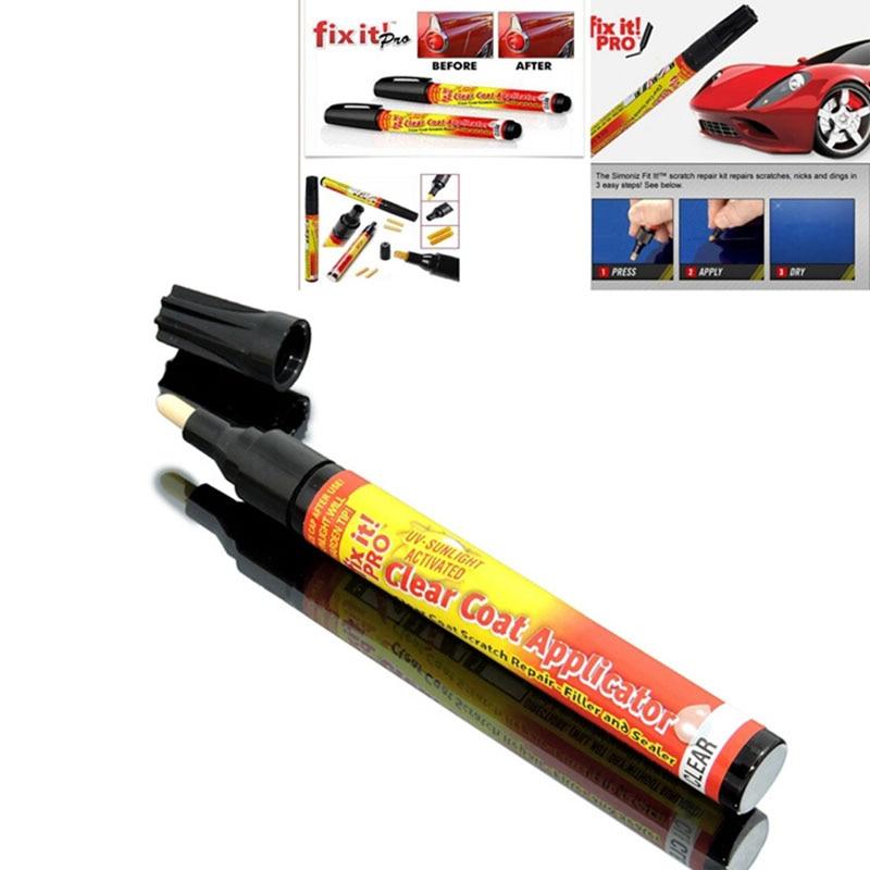 New Fix It Pro Mending Car Scratch Repair Remover Paint Pen Simoniz Clear Coat Applicator For Hyundai VW Mazda Toyota