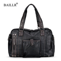 BAILLR Brand Shoulder Bag Casual Man Commercial Briefcase Bag High Quality Shoulder Bag For Men Casual
