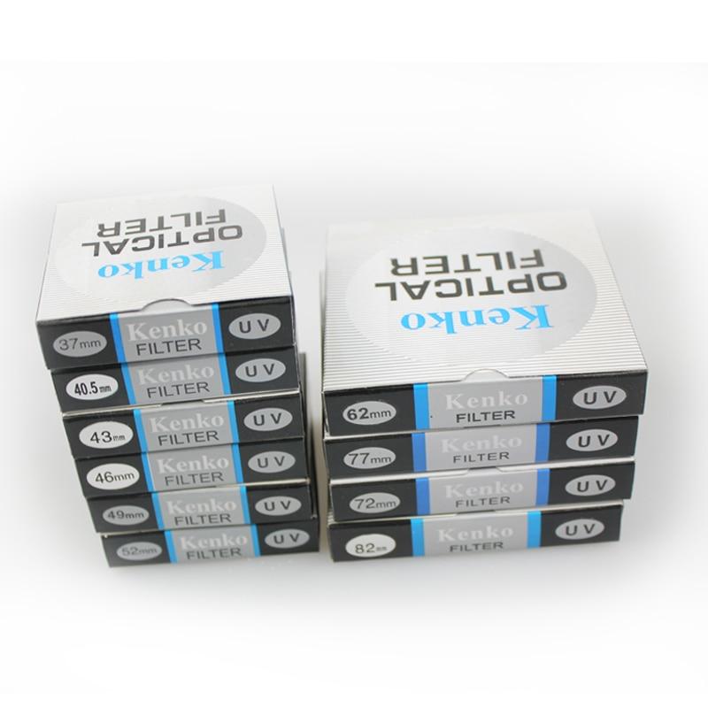 Camera filter 10pcs Kenko 37 40 5 43 46 49 52 55 58 mm UV Filter