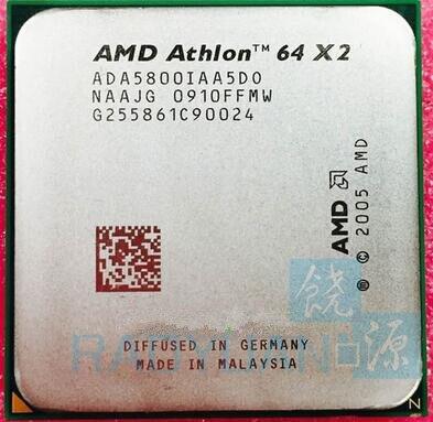 AMD Athlon 64 X2 5800+ 3 GHz Dual-Core CPU Processor ADA5800IAA5DO Socket AM2