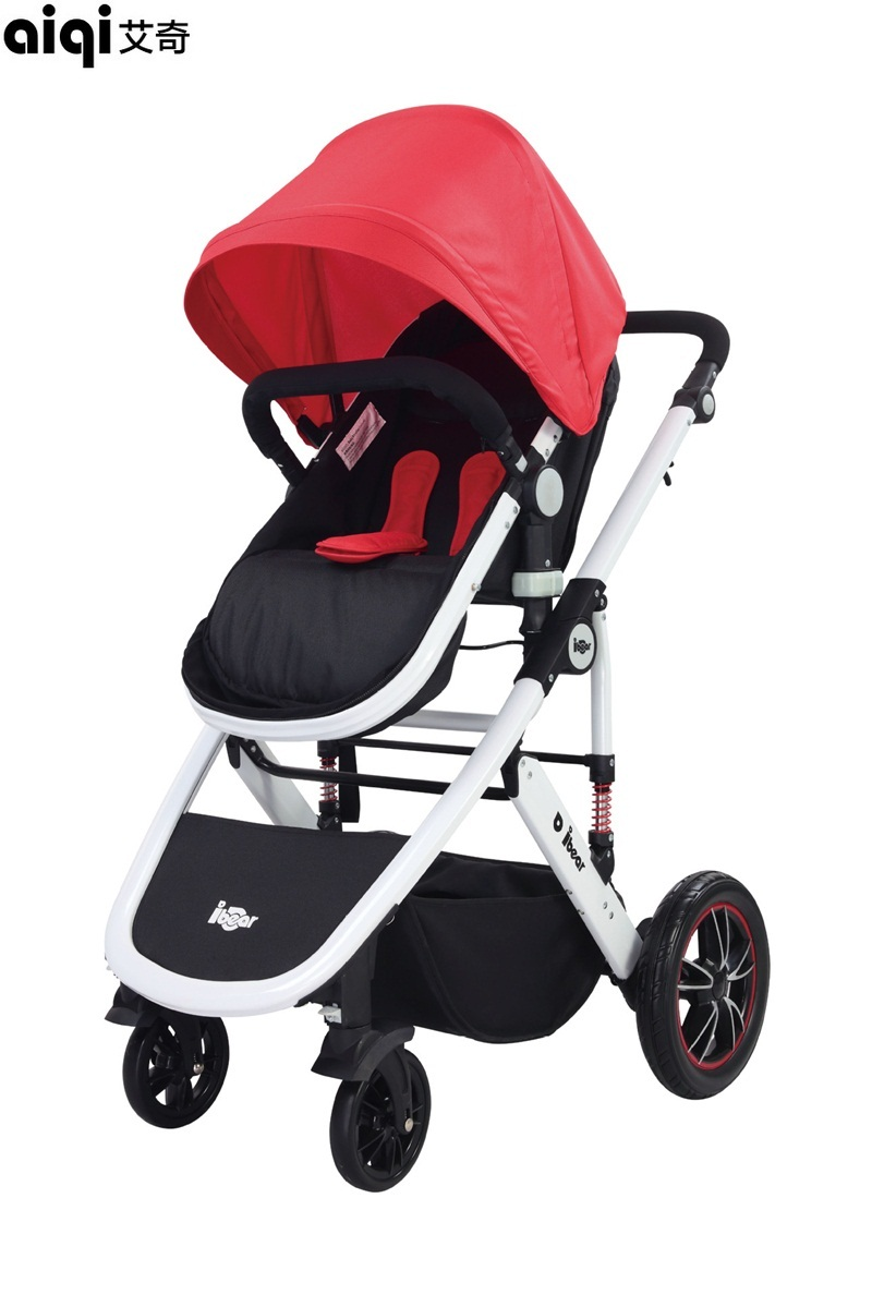 2017 Rushed Poussette Baby Strollers Aiqi Carriage Aluminum Alloy Stroller Portable Foldable High Landscape Pram Pushchair newborn strollers high lightweight pram dropshipping wholesale portable baby top stroller carriage strollers fashion pushchair