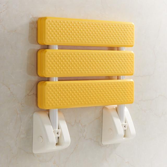 Nice Shower Folding Seat #23 - Bathroom Shower Stool Shower Folding Stool Seat Bathroom Non-slip Bathroom  Wall Chair Change Shoes