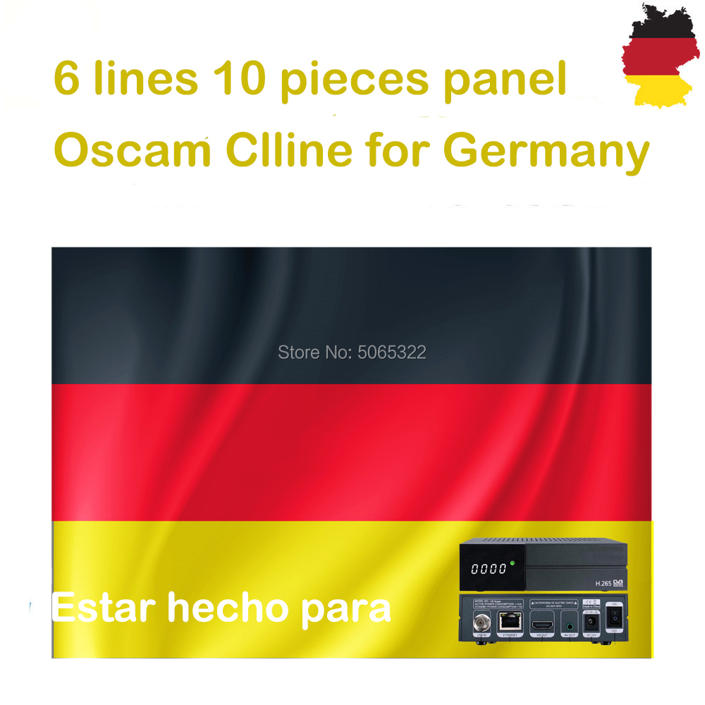 OSCAM Cline Cccam Cline For 1 Year Europe Cccam Spain Portugal Poland Stable Server HD For DVB-S2 Satellite Receiver Receptor