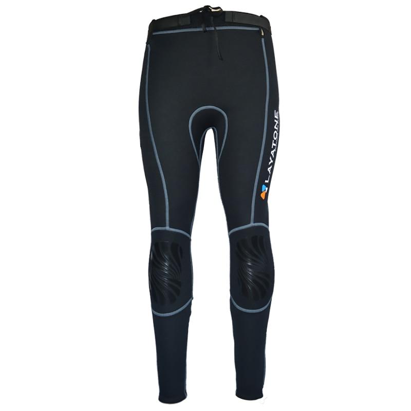 Layatone 3mm Neoprene Wetsuit Pants Women Diving Pants Men Snorkeling Pants Legging Surfing Pants Kayaking Swimsuit Water Pants
