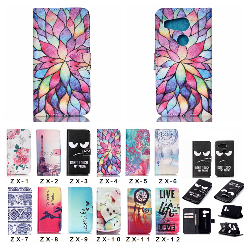 Nexus 5X Case Cover Luxury Flower Card Slot Wallet Flip Book Leather Phone Cases for Goo ...