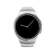 Neue mode KW18 Bluetooth smart uhr vollbild Unterstützung SIM Tf-karte Smartwatch Telefon Heart Rate Für iphone getriebe s2 huawei