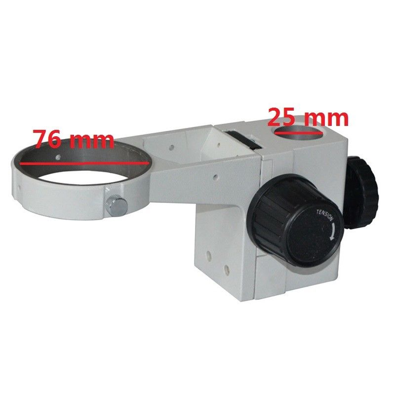 Stereo Microscope Adjustable Coarse Focus Arm Holder E Arm Head Holder Ring Arbor Stand Bracket Bar Hole Diameter 25 mm leetun stereo microscope adjustment focus arm holder e arm head holder ring arbor stand bracket diameter 76 mm accessories