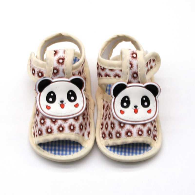Baby Sandals Toddler Infant Boy Girl Summer Cartoon Sandals Soft Sole Outdoor Shoes For Newborn