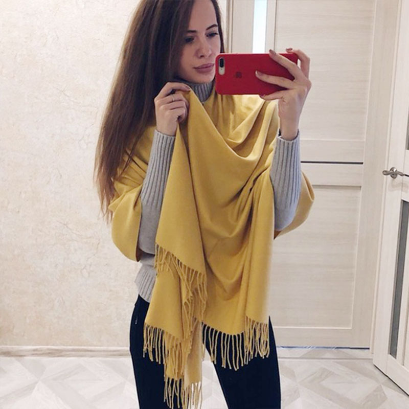 Nellbang Solid women Scarvess