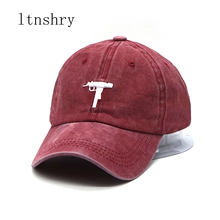 Washed baseball cap US Fashion 2019 Snapback hip hop men's HEYBIG curve sunhat 6 panel dad hat casquette de marque