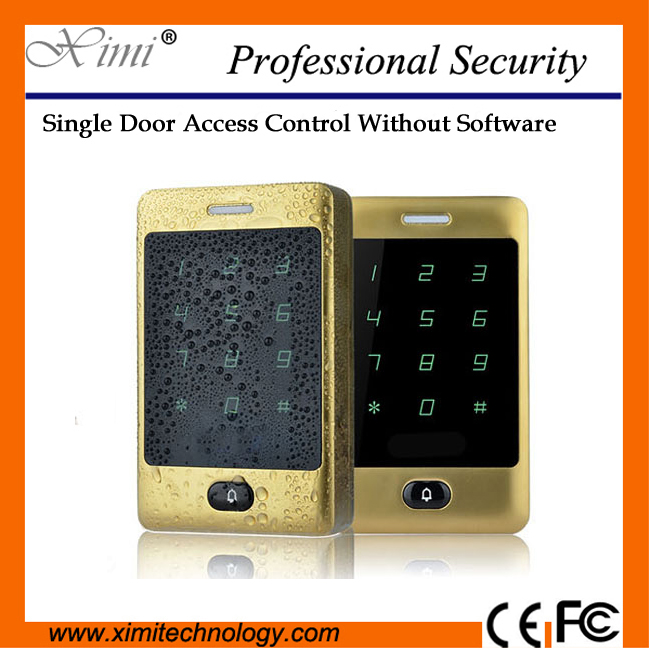 IP65 waterproof RFID card access control system 8000 user with keypad surface waterproof M13A smart access controller 5pcs lot 8000 users biomentric rfid card access controller standalone single door surface waterproof 125khz card access control