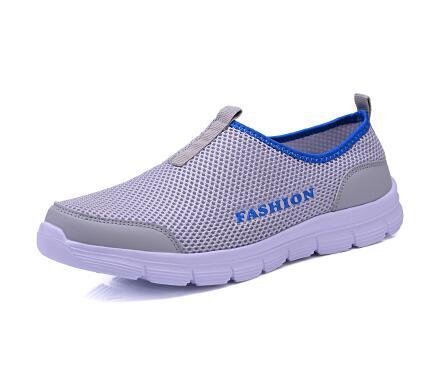 46 Moda Tamaño Respirables 2017 De Hombres Nueva Eur dark Blue Los Planos 37 Zapatillas Grey Zapatos gray Casuales Ocasionales 16FwF