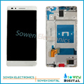 for Huawei Honor 7 LCD display with Touch Screen with Bezel frame Full Sets assembly black , new