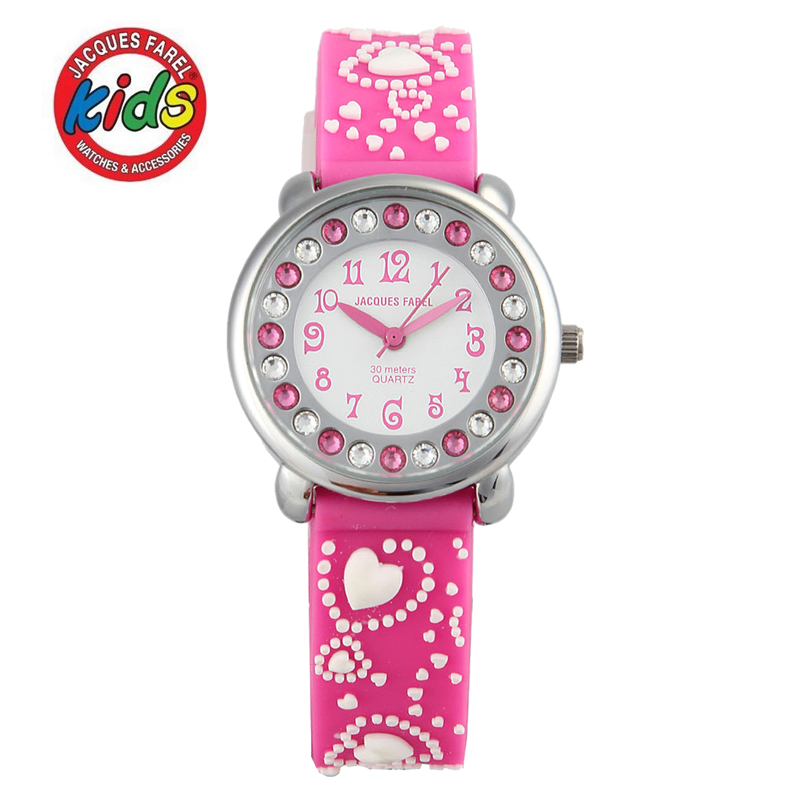JACQUES FAREL font b Kids b font font b watch b font Children font b watches