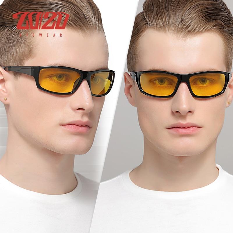 20/20 New Night Vision Solglasögon Män Brand Designer Designer - Kläder tillbehör - Foto 5