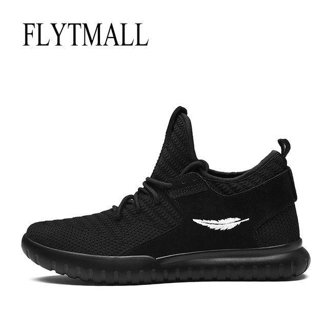 88bef21c2 Fall new high class sports shoes yeezys air men personality nets cloth  running shoes wear-resisting outsole lights boys 2017