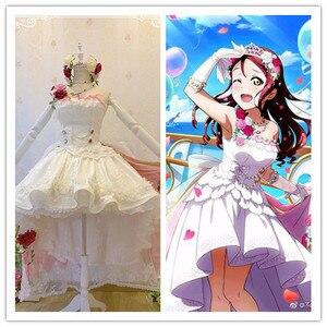 Свадебное платье невесты Love live Sunshine Aqours Sakurauchi Riko, карнавальный костюм на заказ/размер