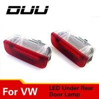 DUU 2 PCS Car Door Light Under Door Warning Light No Error Courtesy Light FOR VW