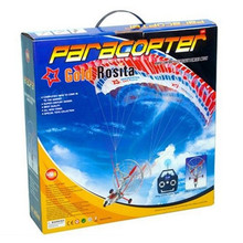 Gold Rosita 655 Paracopter aircraft 3ch RC Plane Parachute toy RC Airplane outdoor flight with Flight Stabilizing System p2