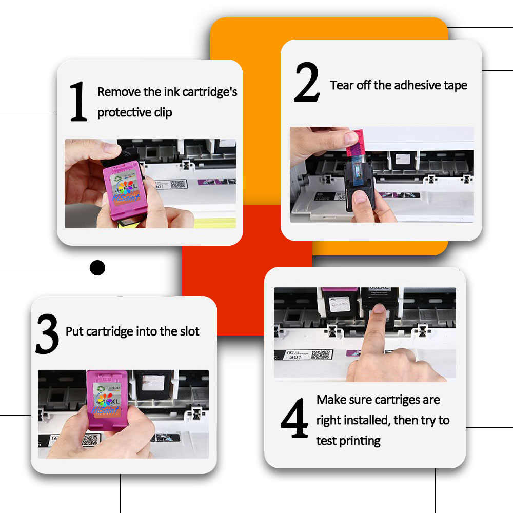 Hisaint для HP 131 135 Замена чернильного картриджа для HP131 для HP135 для Deskjet 460 5740 5940 6520 6540 5743 5943 принтер