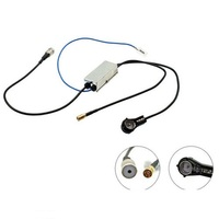 DAB DAB AM FM Antenna SPLITTER ISO FEMALE TO ISO MALE AERIAL ANTENNA ADAPTER
