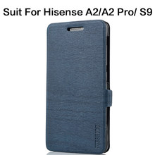 Hisense A2 S9 A2 pro mobile phone dual screen ink screen phone shell frame flip leather case frame film glass(China)