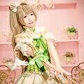 Kotori Minami Cosplay Lovelive / Love Live School Idol Project Green Blume Series Uwowo Costume