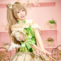 Lovelive Love Live School Idol Project Kotori Minami Cosplay Flower Series Costume