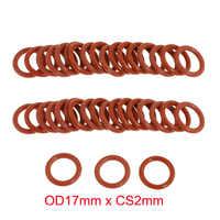OD17mm x CS2mm wysoka temperatura silicone rubber seal o-ring oring