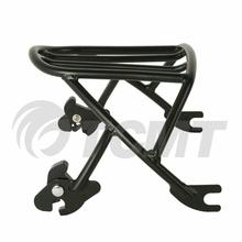 Motorcycle Black/Chrome New Solo Detachable Luggage Rack For Harley Sportster XL1200 883 72 48 04-18 53512-07A