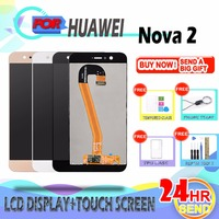 SZHAIYU For Huawei Nova 2 PIC L29 PIC L09 PIC LX9 LCD Display Touch Screen With Frame Digitizer Glass Panel Replacement