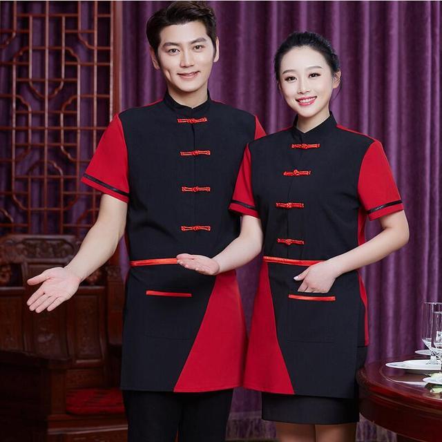 Desain Baru Musim Panas Hotel Chef Seragam Bernapas Restoran Makanan Pakaian Kerja Dapur Pria Wanita Memasak