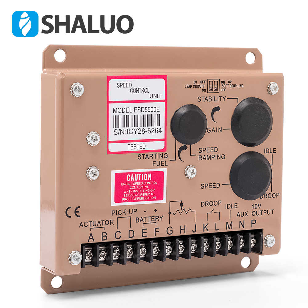 Cheaper 5500E Speed Controller diesel generator engine actuator govornor  brushless genset part DC motor control circuit board