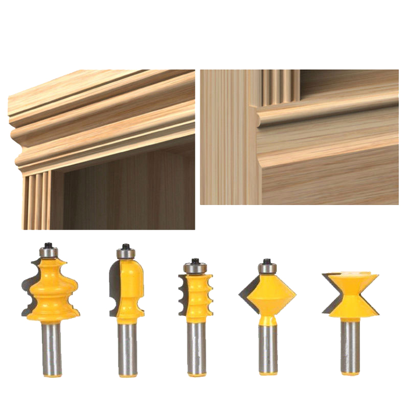 5PCS/SET DIY Bookshelf Molding & Edge Banding Woodworking ...