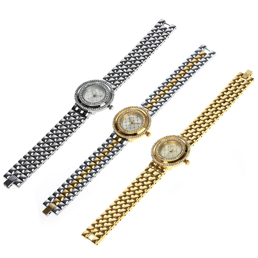 Image 5 - Dreamcarnival 1989 Recommend Elegant Ladies Watches 3 Colors Quartz Watch Women Slim Clock Party Fashion Brand Crystals A8370-in Women's Watches from Watches