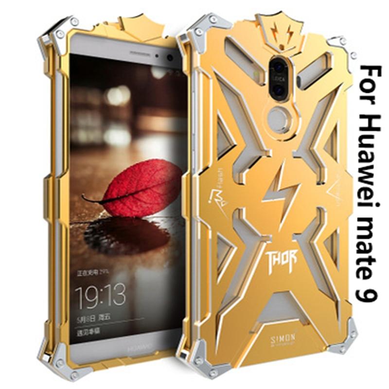 Nueva llegada de lujo de aluminio caja de metal para Huawei mate 9 - Accesorios y repuestos para celulares