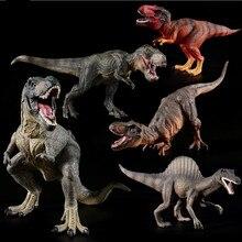Plastic Dinosaur Toy Model Action Anime Figures of Jurassic world park Tyrannosaurus Classic Toys For Kids Gifts. new world park tyrannosaurus rex dinosaur plastic toy model kids gifts