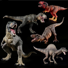 Plastic Dinosaur Toy Model Action Figures of Jurassic park world Tyrannosaurus Classic Toys For Kids Gifts.