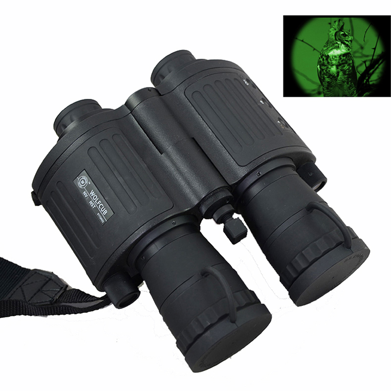 Night Scope 5x Gen1 Full Darkness Zoom 5X Night Vision Infrared Night Vision Binoculars Telescope For Hungting #NS 550