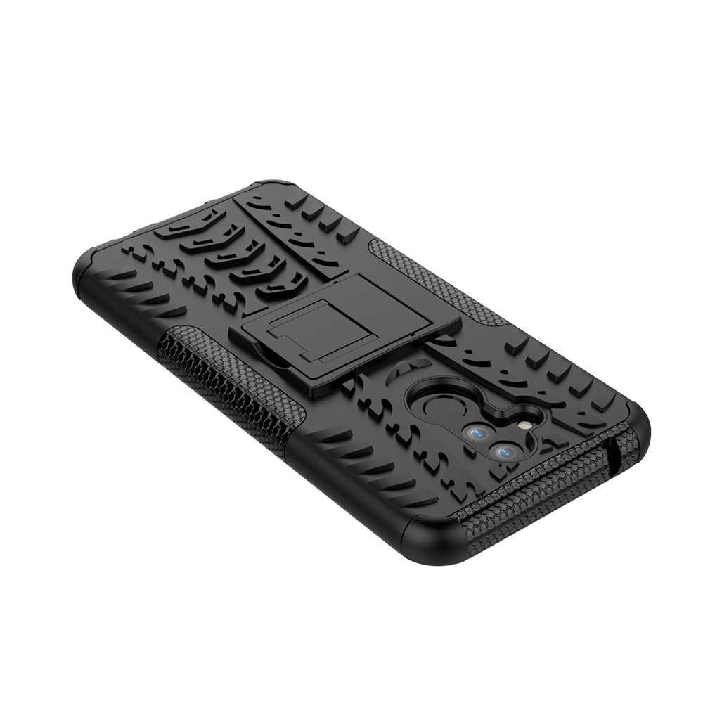 Per Il caso di Huawei Compagno di 20 Lite Antiurto Armatura Dura del PC Custodia In Silicone Per Compagno di 20 Lite Molle di TPU Cassa Del Telefono copertura Borsette Coque