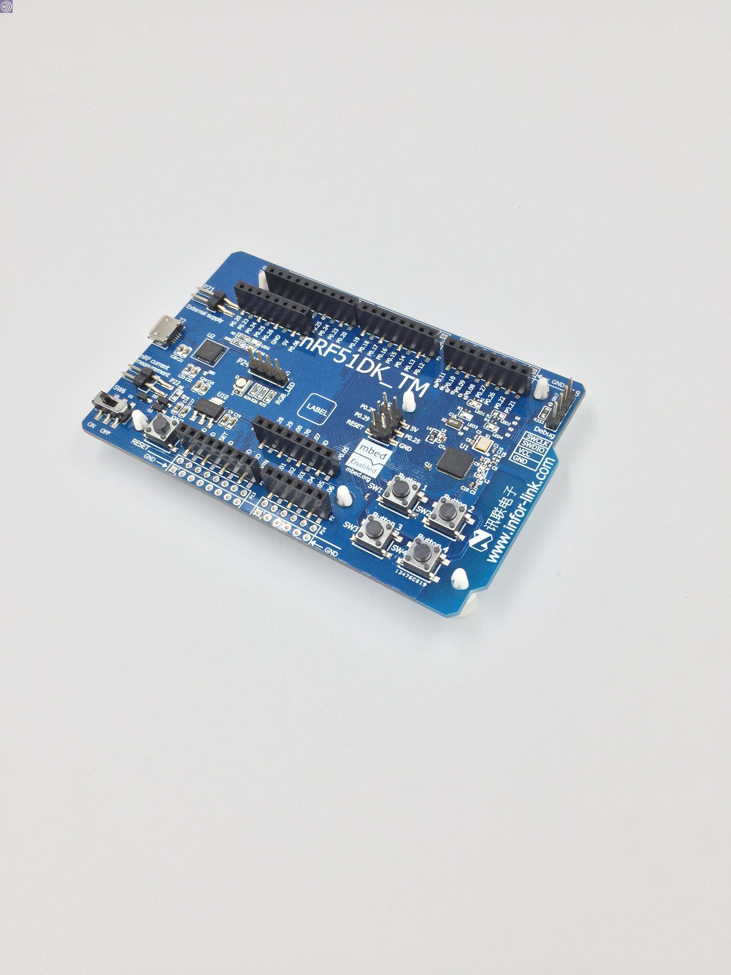 Video tutorial! Nrf51422nrf51822 nRF51DK Bluetooth ANT 4.0BLE development PCA10028 nrf52832 development board nrf52dk bluetooth ble4 2 ble ant nfc 2 4g multi protocol