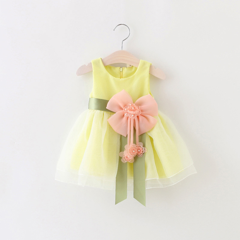 2017 For Toddler Girl First Birthday Baptism Clothes Double Formal