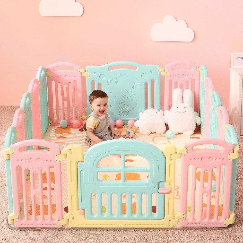 Plastique sécurité bébé clôture enfants activité équipement barrière jeu parcs clôture intérieure et extérieure escrime jouer cour jouer clôture