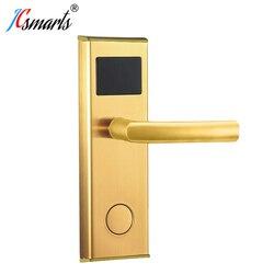 فضي اللون قفل مجمع الباب فندق قفل الباب الذكي مع شهادات CE ، FCC