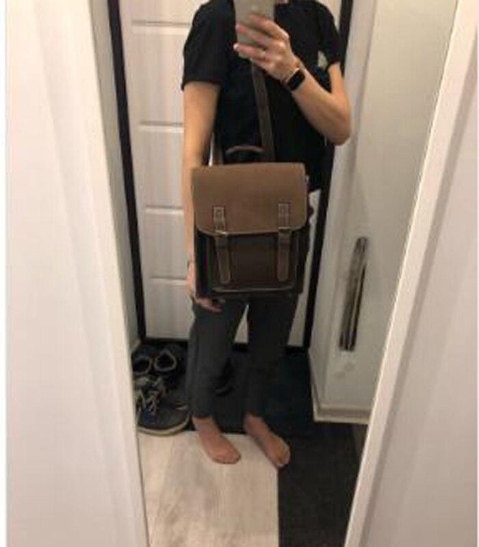 HTB1VaMtborrK1RkSne1q6ArVVXaI Fashion 2 PCS/SET Leather Women Backpacks for Teenagers female Back Pack Large Capacity Pu Travelling Bags Vintage school bag